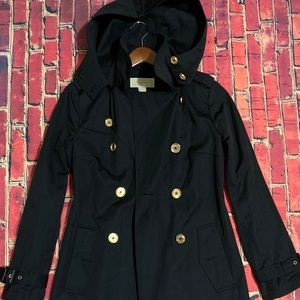 Michael Kors Hooded Parker Trench Coat